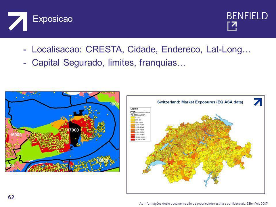 Localisacao: CRESTA, Cidade, Endereco, Lat-Long…