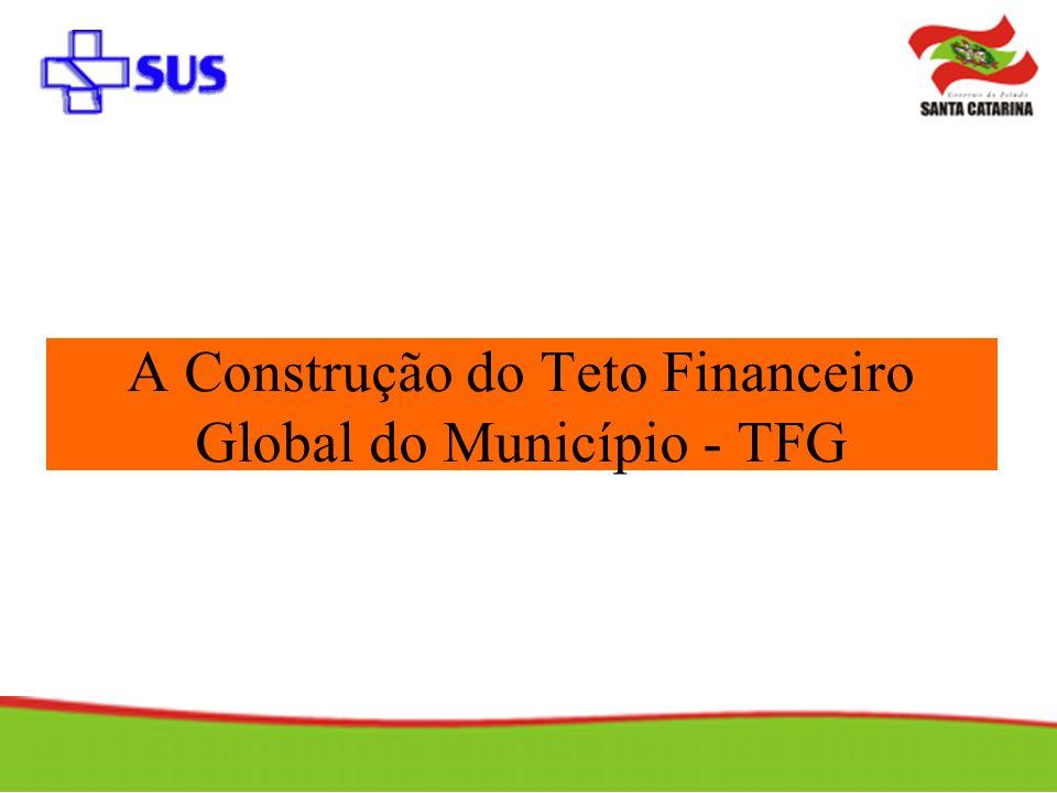 A Construção do Teto Financeiro Global do Município - TFG