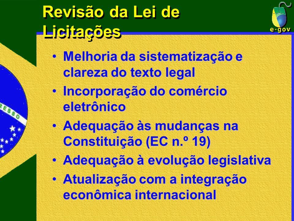 Revisão da Lei de Licitações