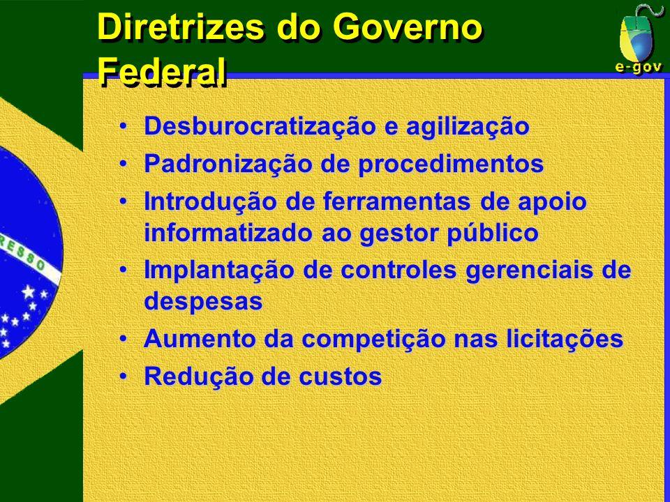 Diretrizes do Governo Federal