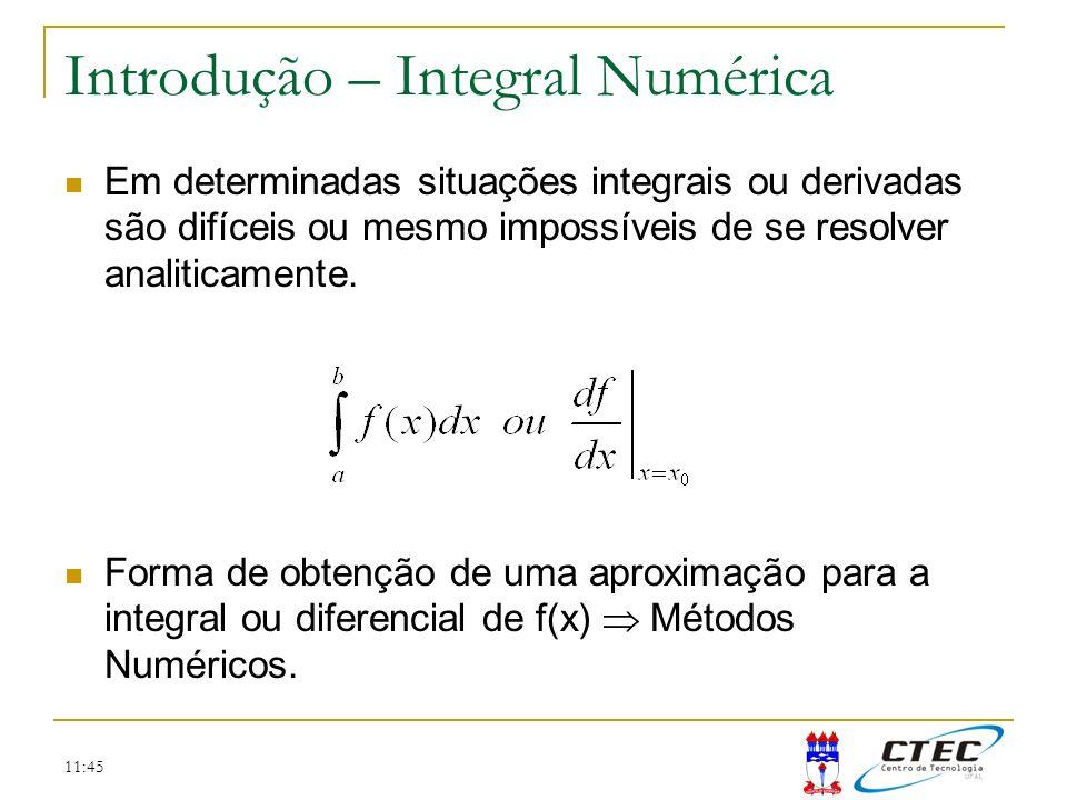 Introdução – Integral Numérica