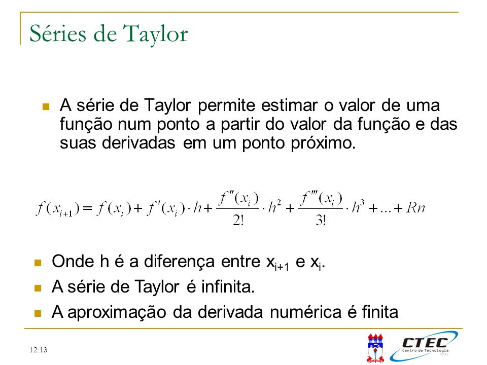 Séries de Taylor