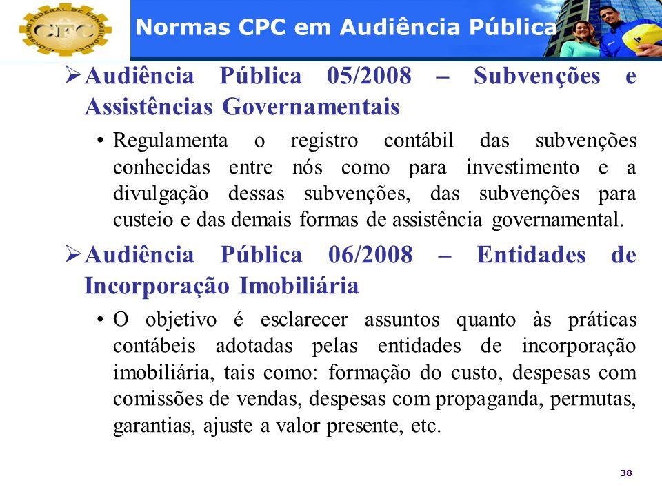 Normas CPC em Audiência Pública