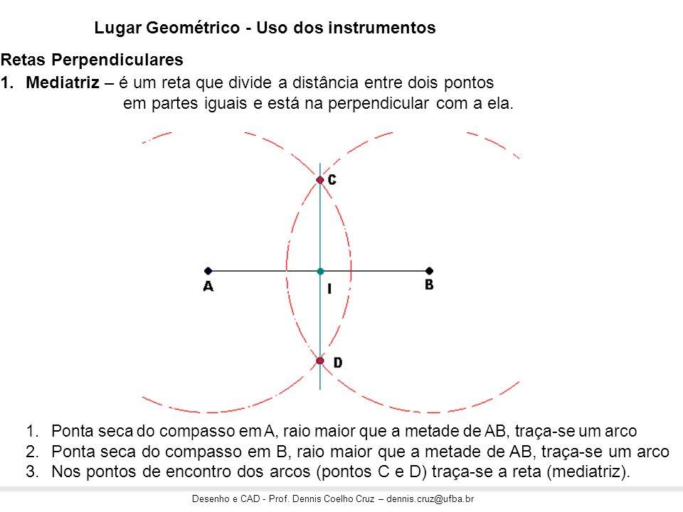 Lugar Geométrico - Uso dos instrumentos