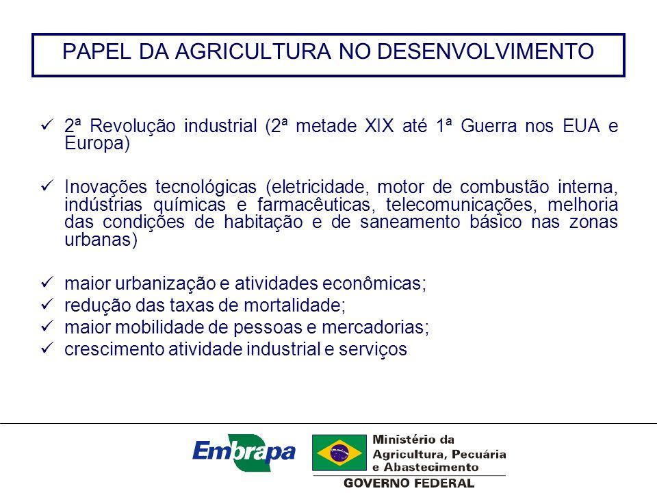 PAPEL DA AGRICULTURA NO DESENVOLVIMENTO