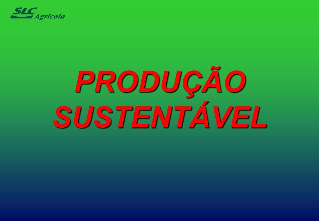 PRODUÇÃO SUSTENTÁVEL