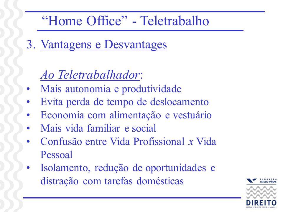 Home Office - Teletrabalho