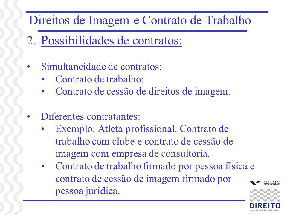 Direitos de Imagem e Contrato de Trabalho