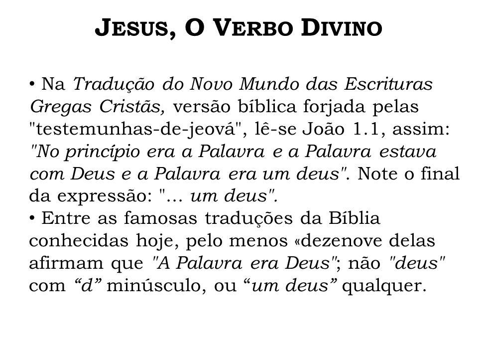 Jesus, O Verbo Divino