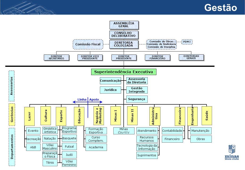 Gestão Superintendência Executiva Linha Apoio ASSEMBLÉIA GERAL