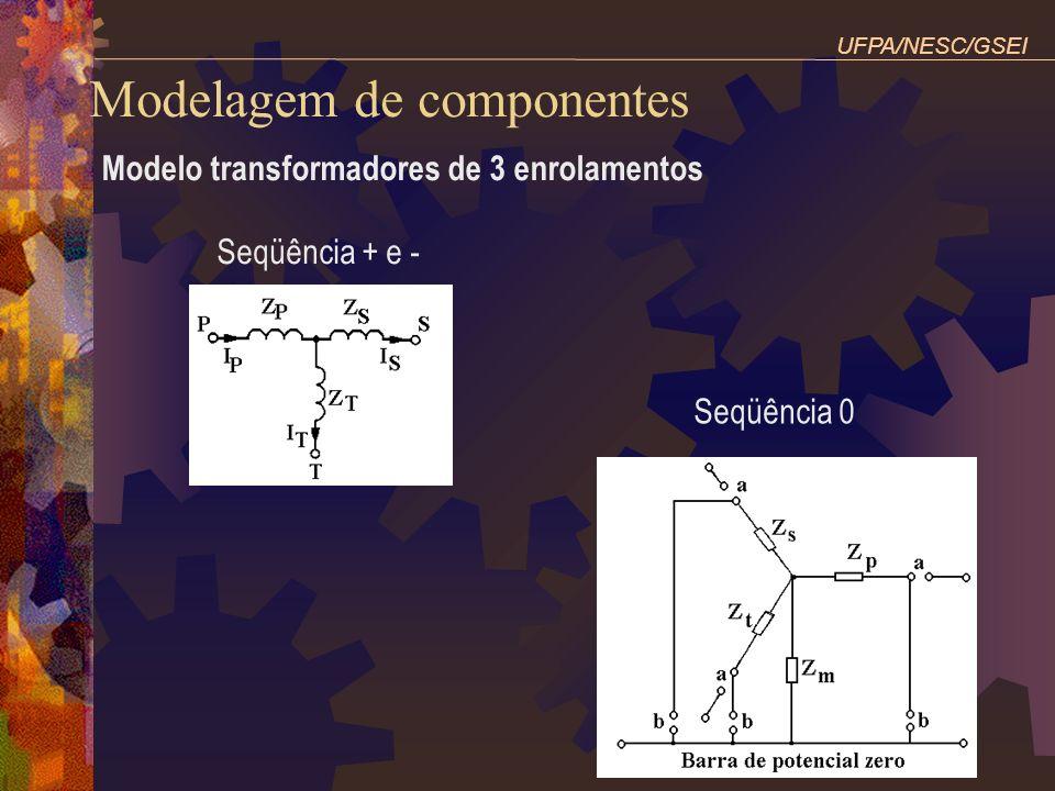 Modelo transformadores de 3 enrolamentos