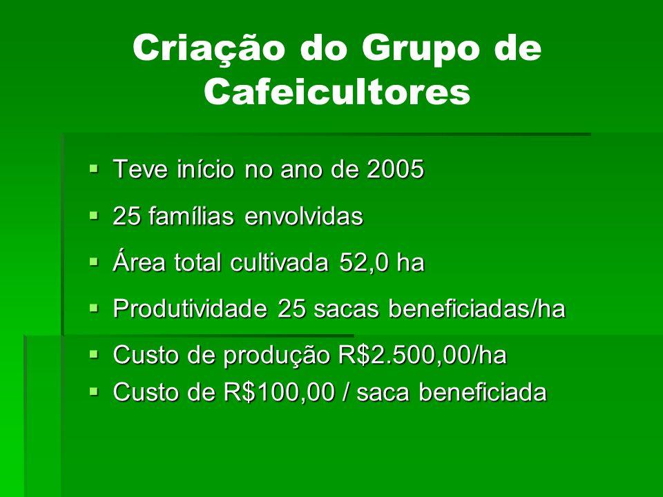 Criação do Grupo de Cafeicultores