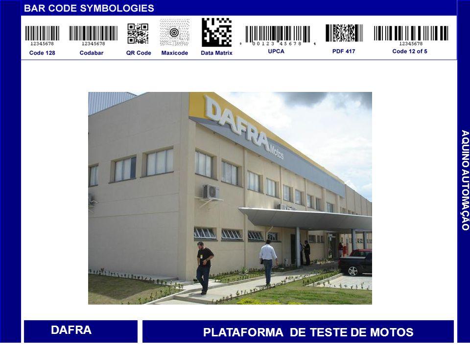 PLATAFORMA DE TESTE DE MOTOS