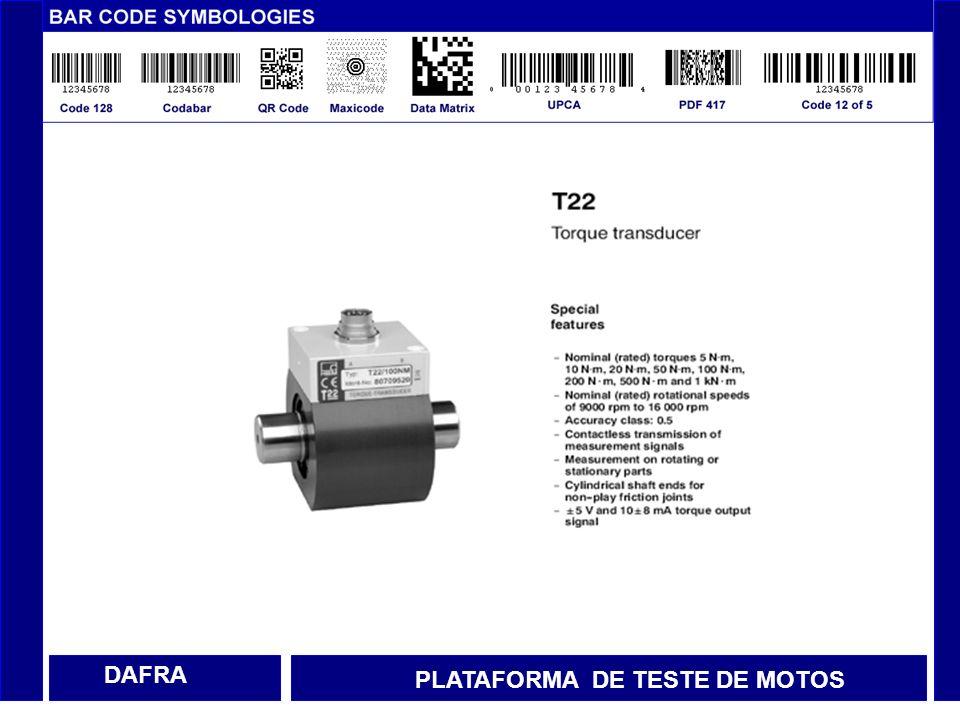 DAFRA PLATAFORMA DE TESTE DE MOTOS