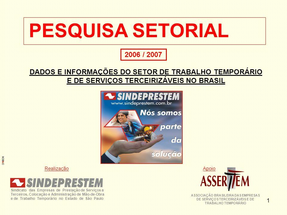 ASSOCIAÇÃO BRASILEIRA DAS EMPRESAS DE SERVIÇOS TERCEIRIZÁVEIS E DE
