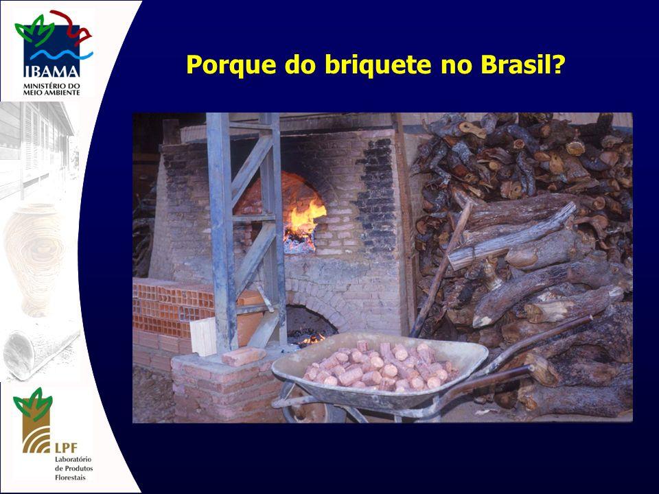 Porque do briquete no Brasil