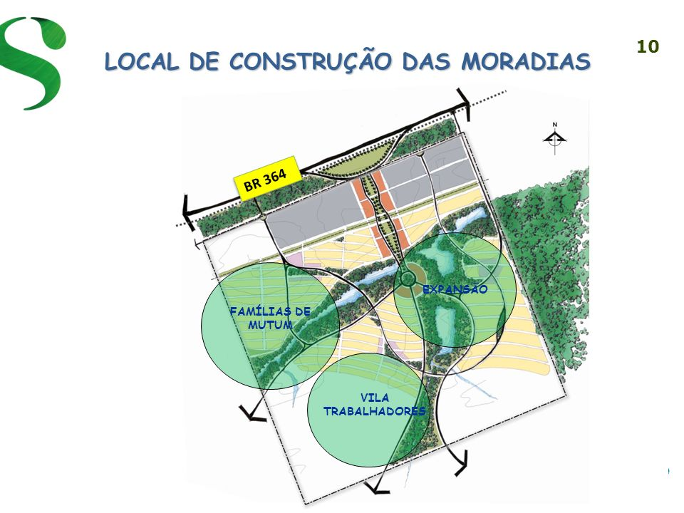 LOCAL DE CONSTRUÇÃO DAS MORADIAS