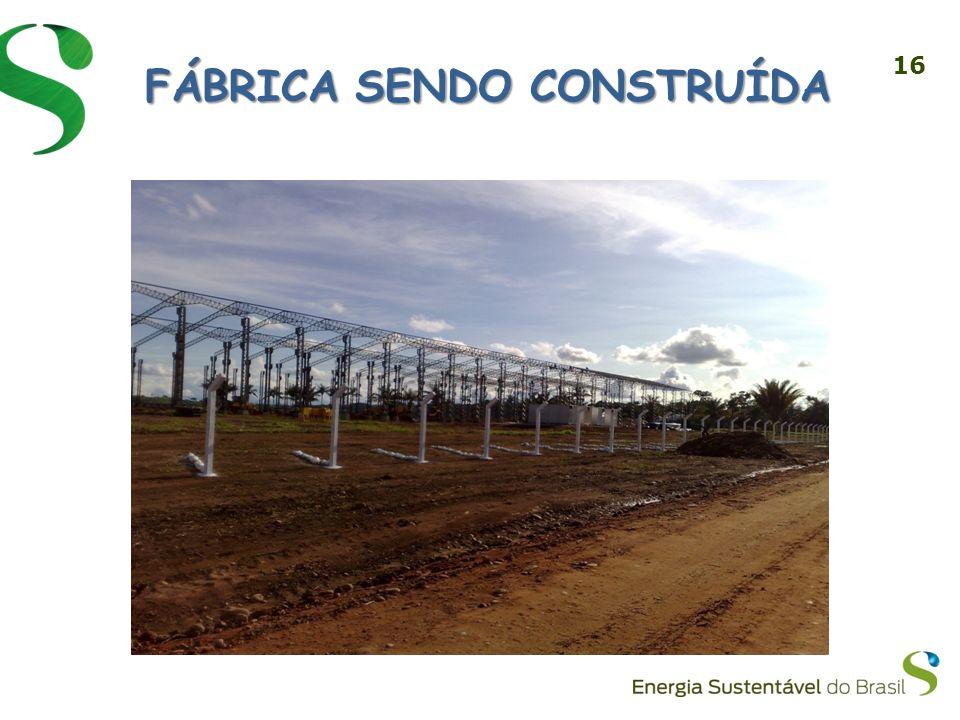 FÁBRICA SENDO CONSTRUÍDA