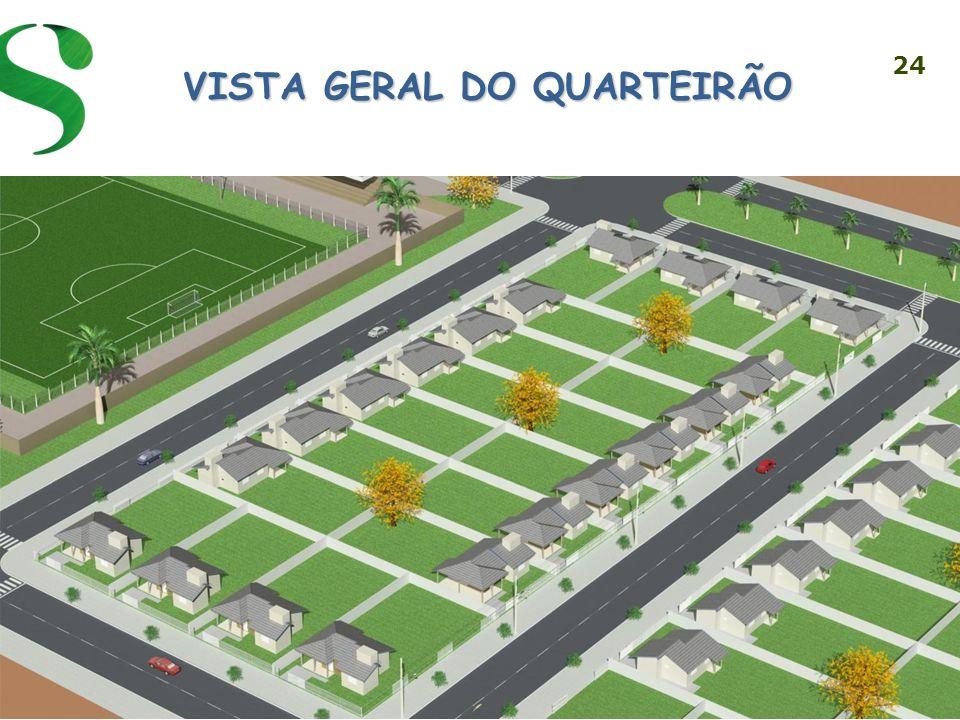 VISTA GERAL DO QUARTEIRÃO