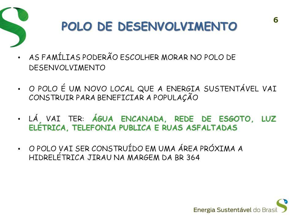 POLO DE DESENVOLVIMENTO