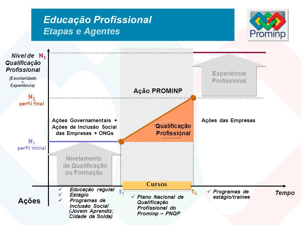 Educação Profissional Etapas e Agentes