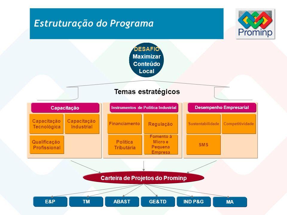 Estruturação do Programa