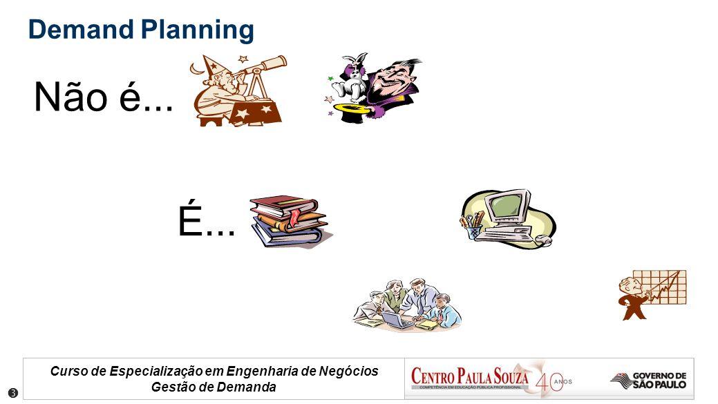 Demand Planning Não é... É... 