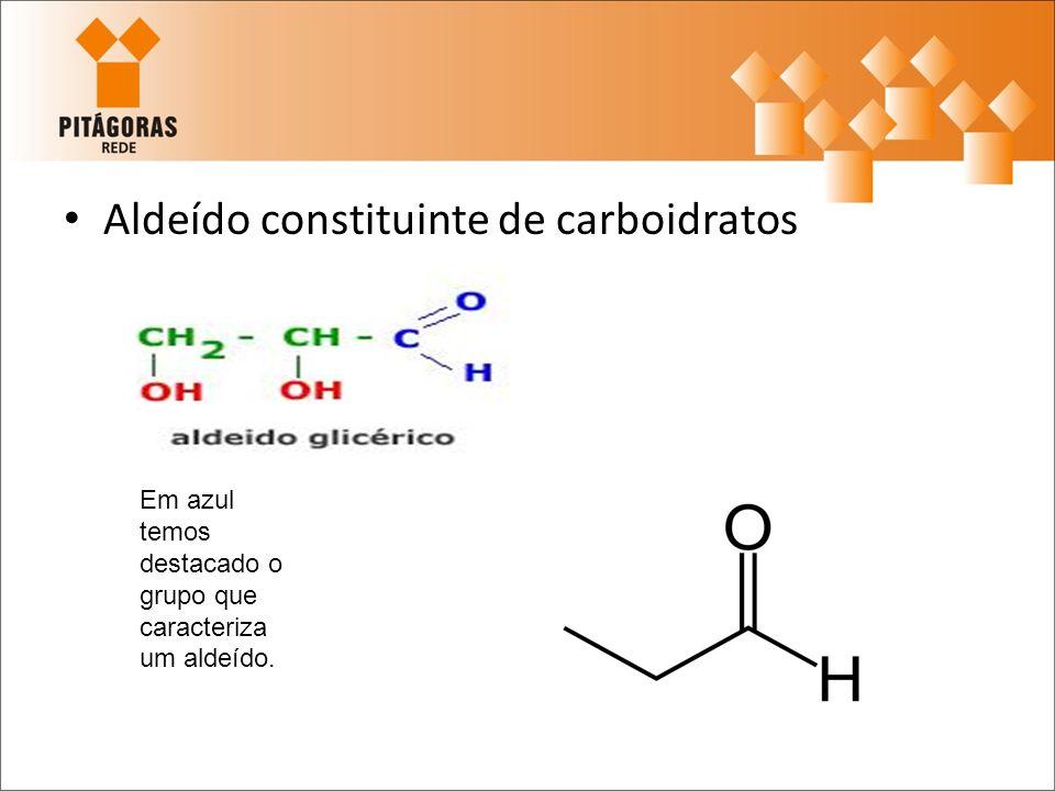 Aldeído constituinte de carboidratos