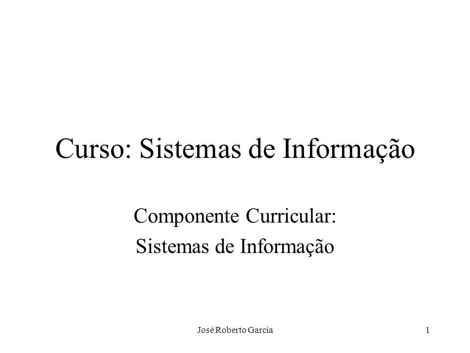 Curso: Sistemas de Informação