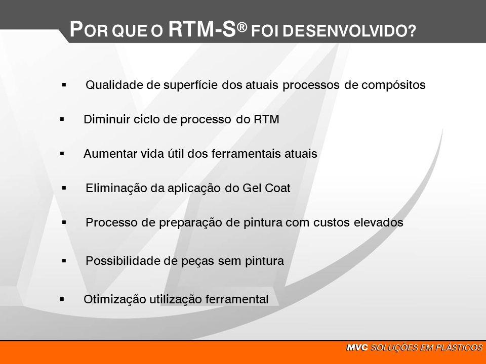 POR QUE O RTM-Sd FOI DESENVOLVIDO