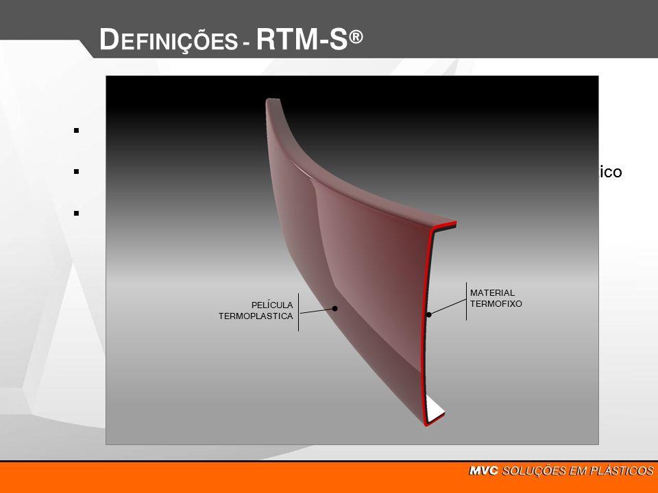 DEFINIÇÕES - RTM-Sd RTM – Resin Transfer Molding