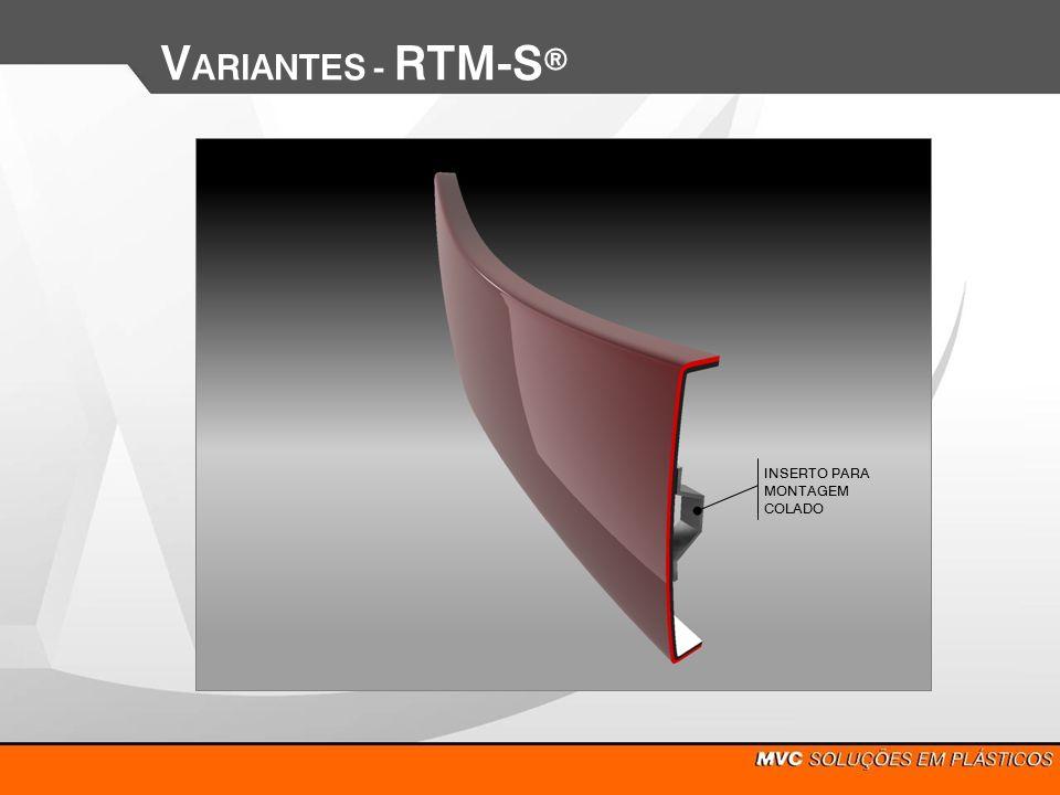 VARIANTES - RTM-Sd INSERTO PARA MONTAGEM COLADO