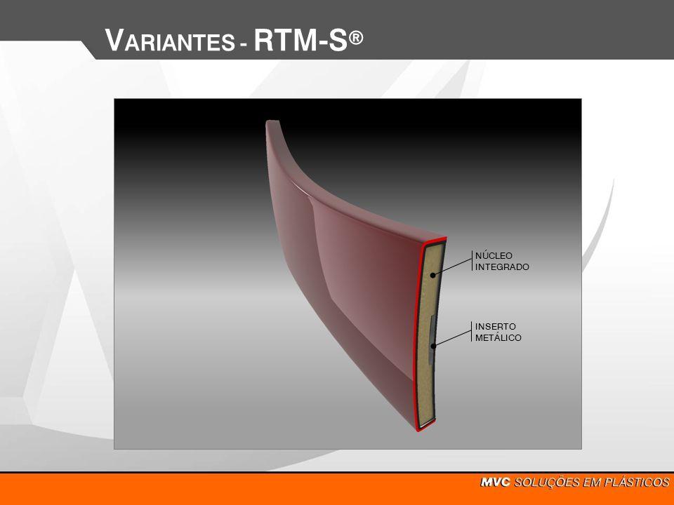 VARIANTES - RTM-Sd INSERTO METÁLICO NÚCLEO INTEGRADO