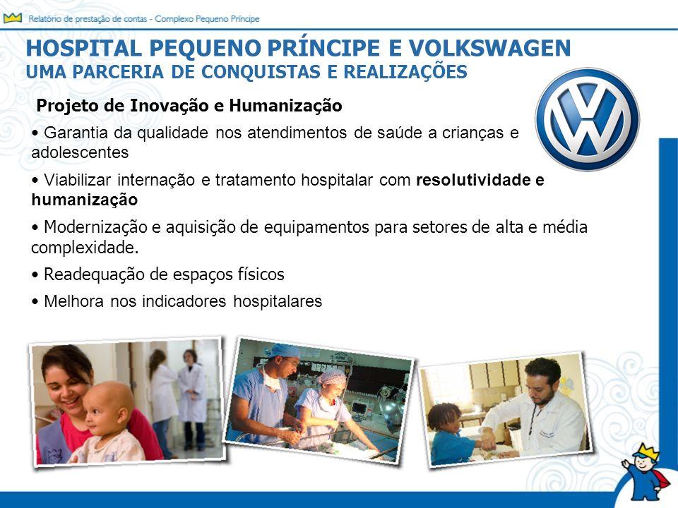 HOSPITAL PEQUENO PRÍNCIPE E VOLKSWAGEN