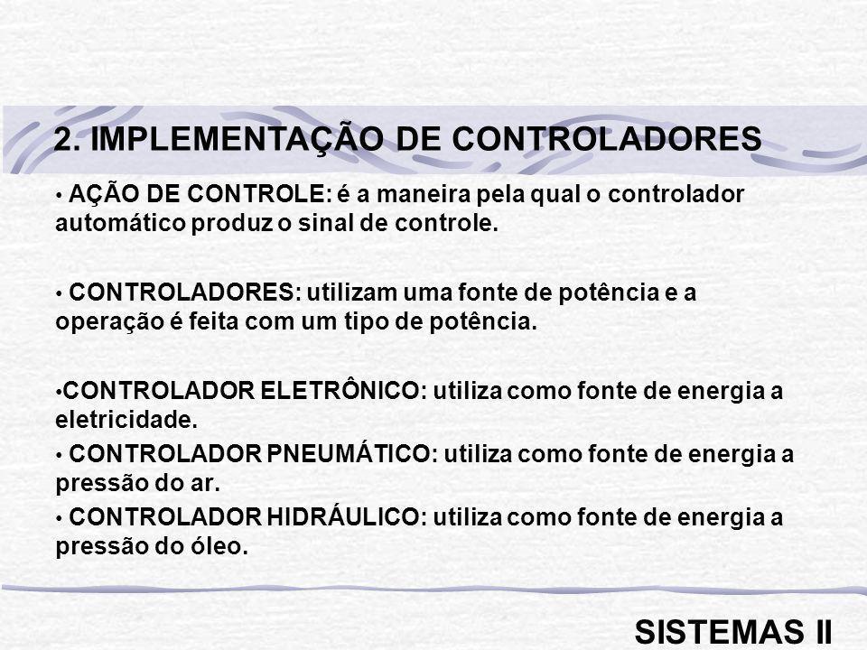 2. IMPLEMENTAÇÃO DE CONTROLADORES