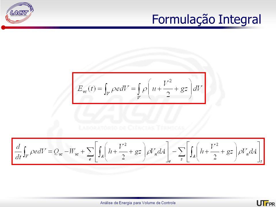 Formulação Integral