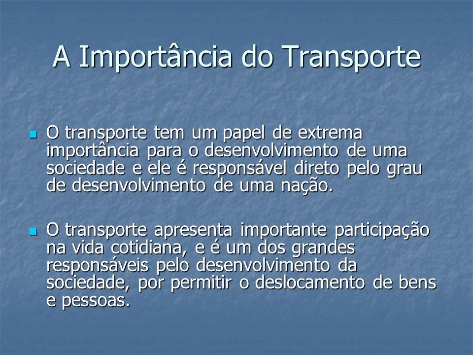 A Importância do Transporte