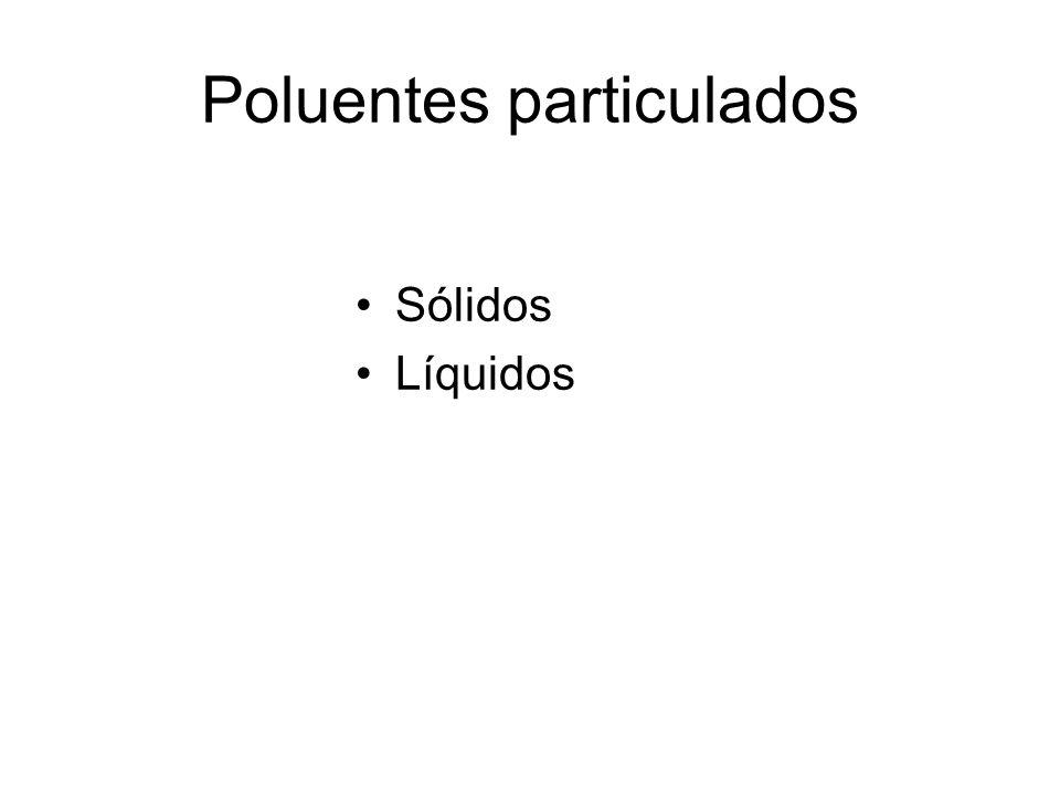 Poluentes particulados