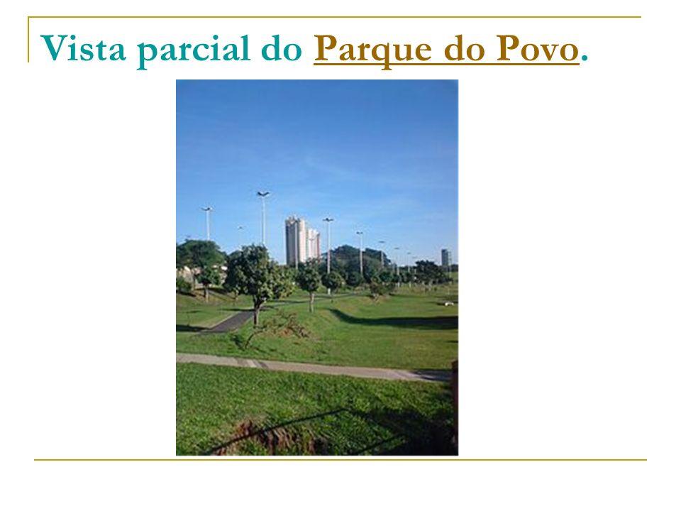 Vista parcial do Parque do Povo.