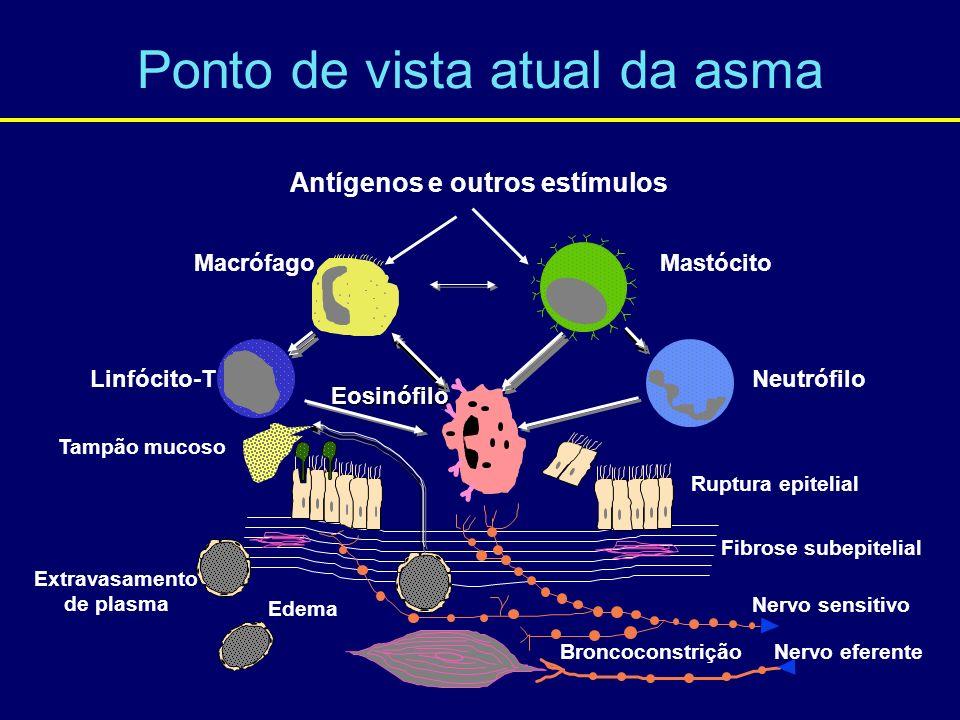 Ponto de vista atual da asma