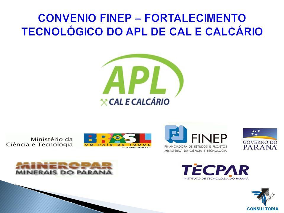 CONVENIO FINEP – FORTALECIMENTO TECNOLÓGICO DO APL DE CAL E CALCÁRIO