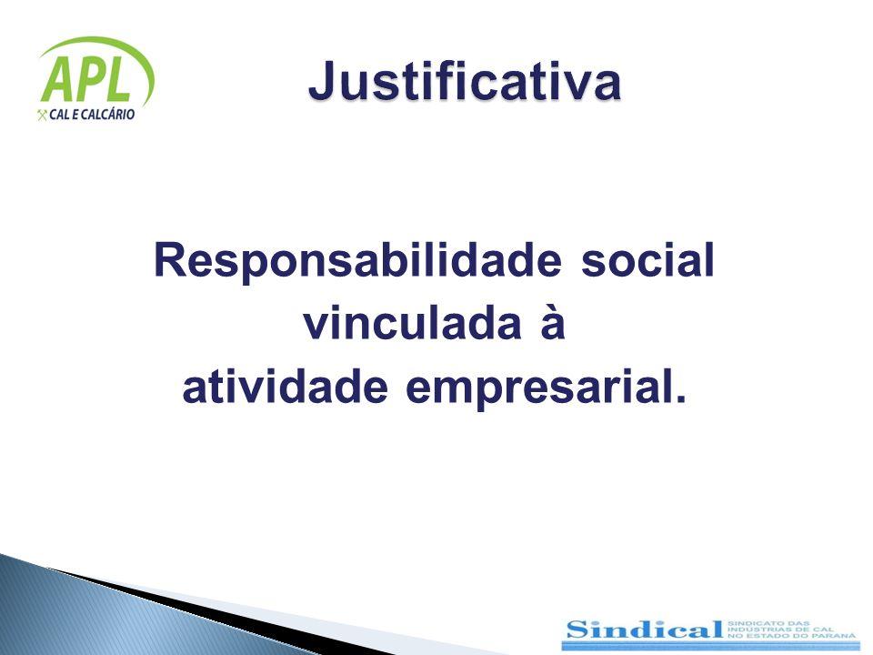 Responsabilidade social atividade empresarial.