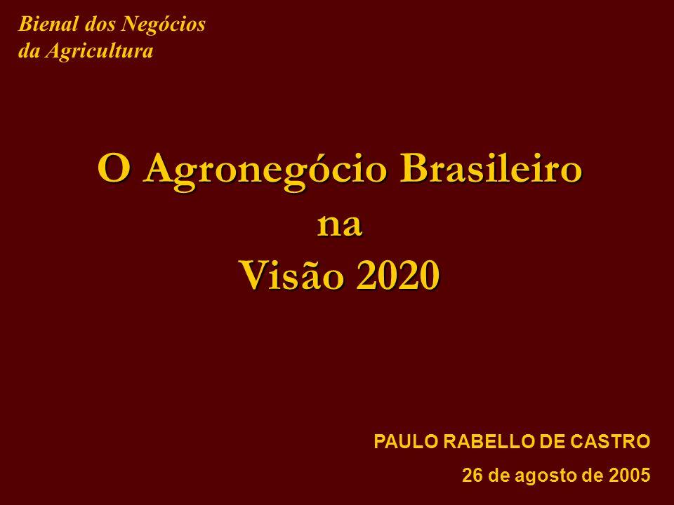 O Agronegócio Brasileiro