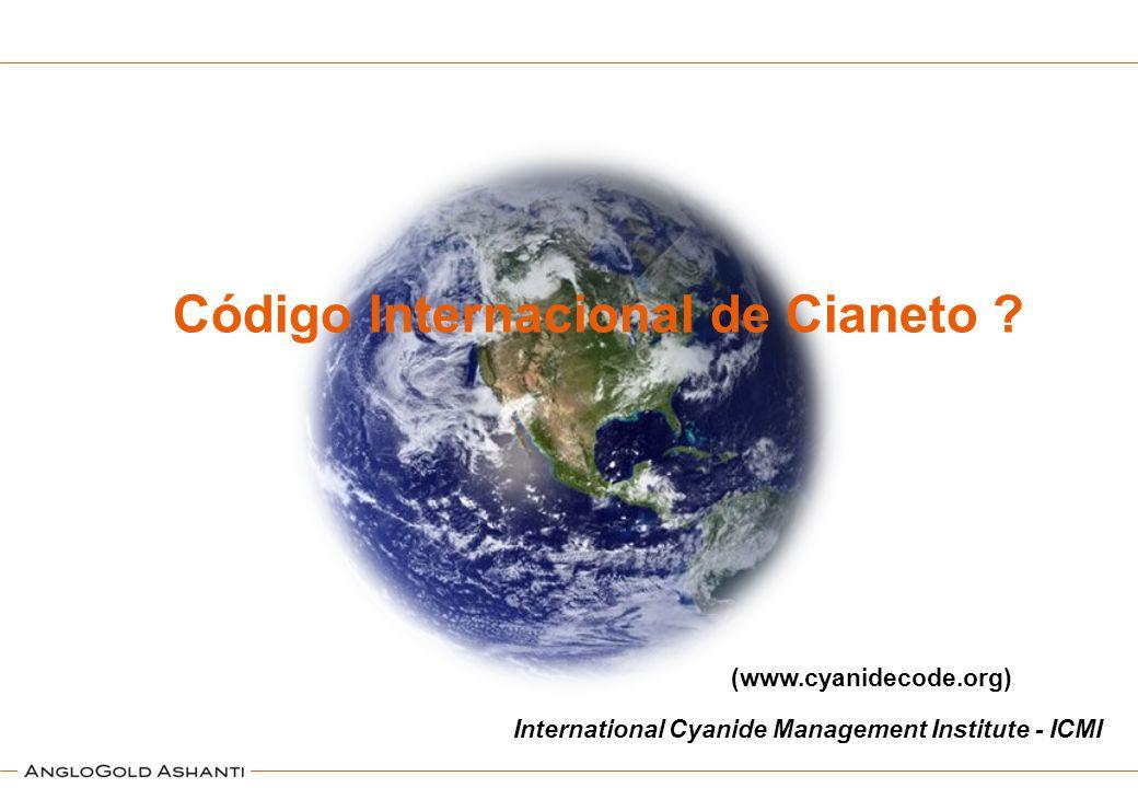 Código Internacional de Cianeto