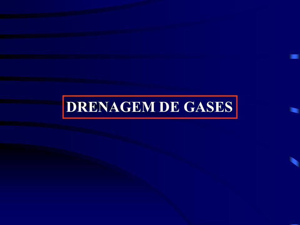DRENAGEM DE GASES