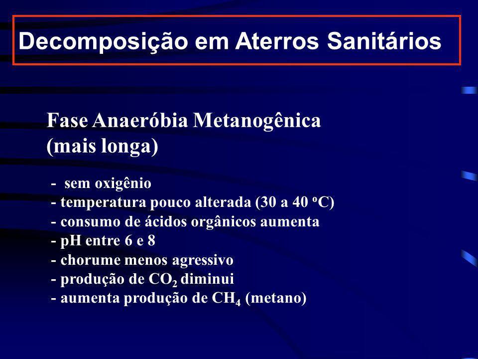 Decomposição em Aterros Sanitários