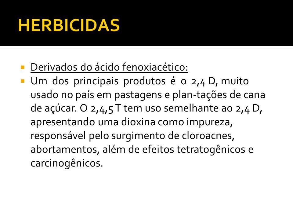 Derivados do ácido fenoxiacético: