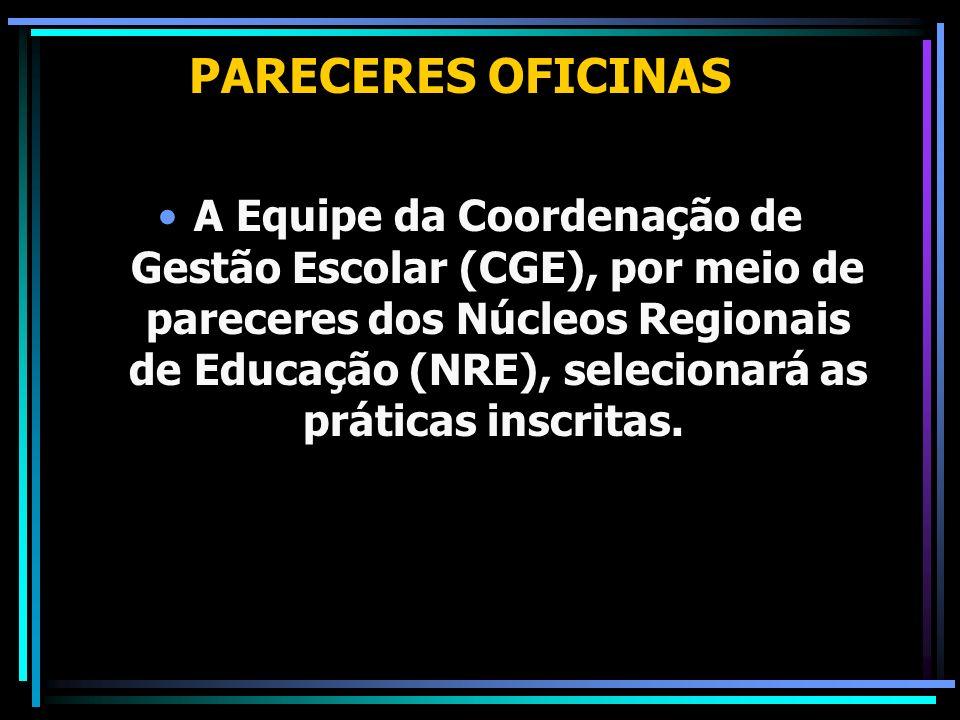 PARECERES OFICINAS