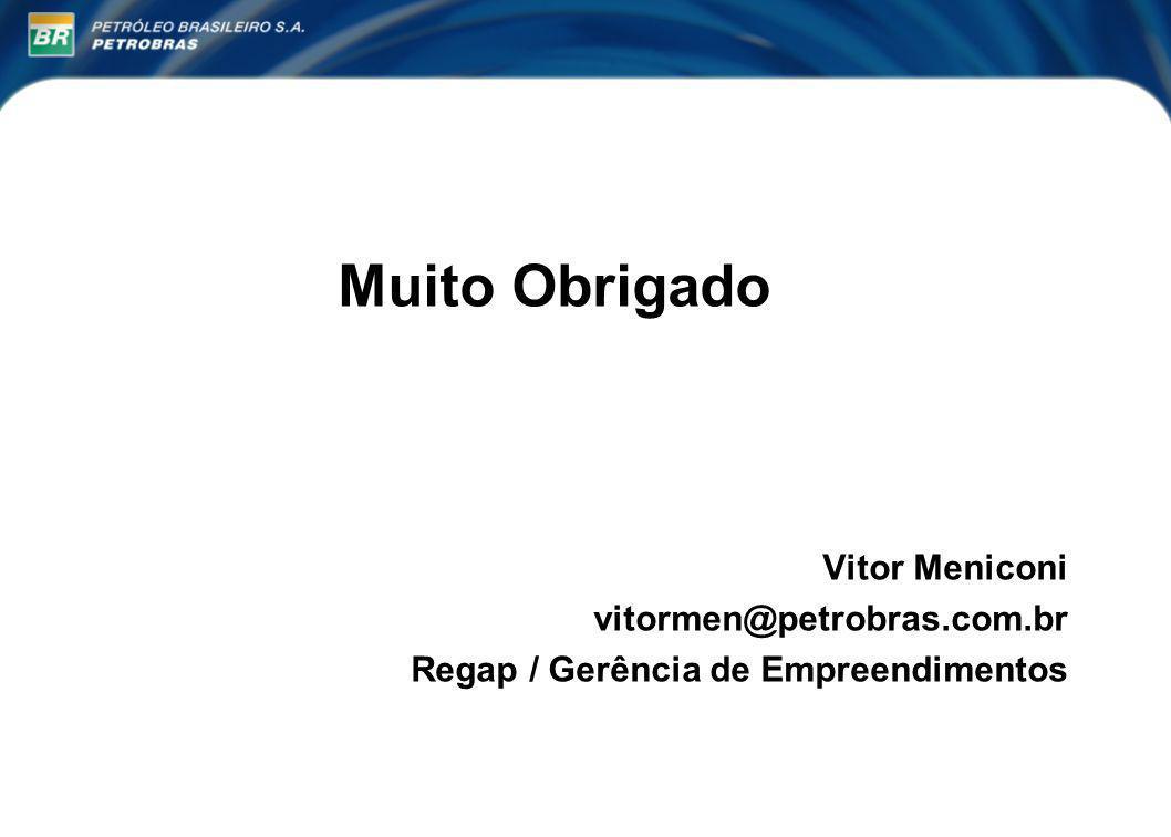 Muito Obrigado Laboratório Vitor Meniconi vitormen@petrobras.com.br