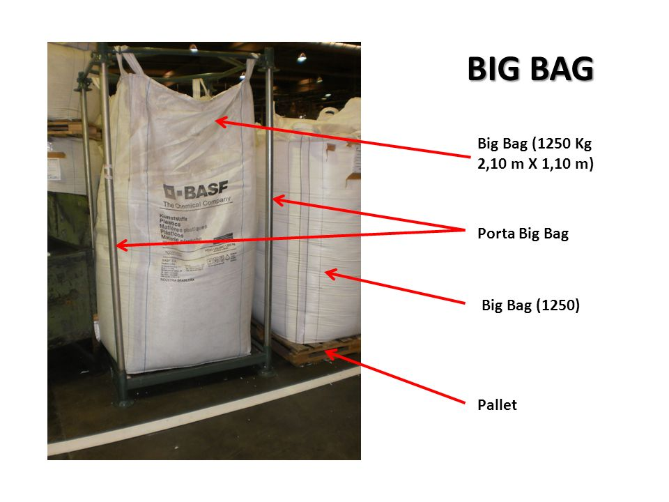 BIG BAG Big Bag (1250 Kg 2,10 m X 1,10 m) Porta Big Bag Big Bag (1250)